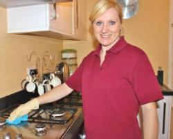 DPC Cleaner in Kitchen